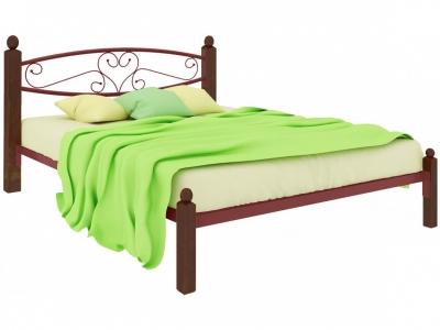 Кровать Каролина Lux красная