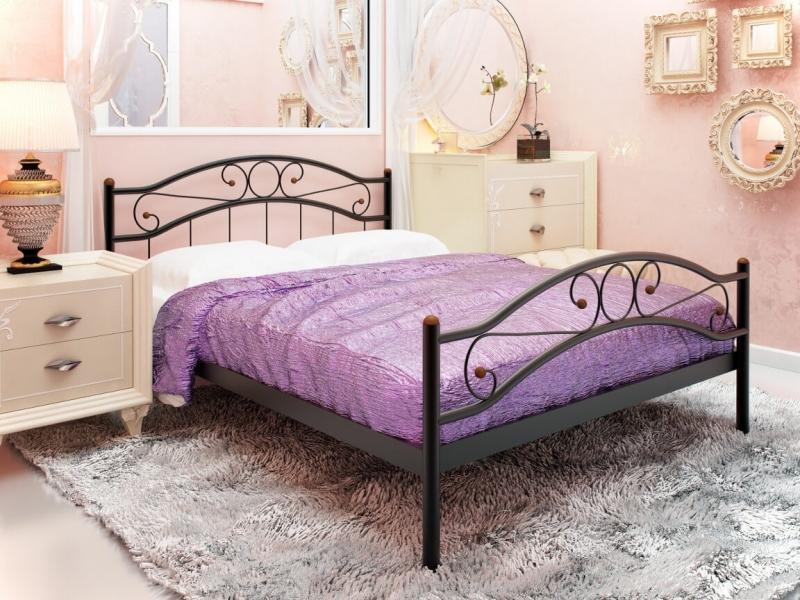 Кровать Надежда Plus черная