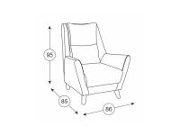 Кресло для отдыха Дали ТК 232