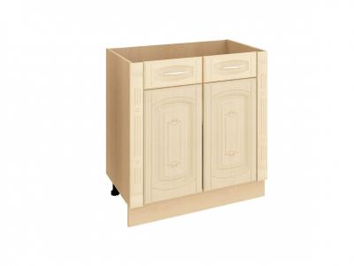 Стол с колоннами и 2 ящиками - метабоксы 03.63.2 Глория 3 800х470х820