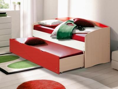 Кровать детская выдвижная Матрица мдф