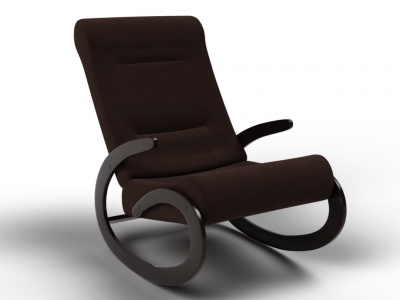 Кресло-качалка Мальта шоколад