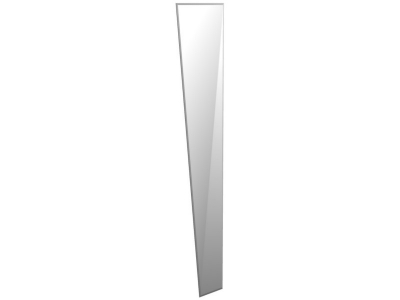 Зеркало для шкафа Стреза 373х1603