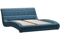 Кровать Сальма 160 с основанием дарлинг деним