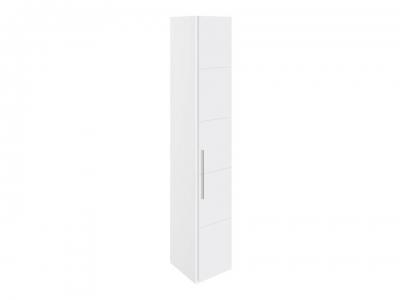 Шкаф торцевой с 1 дверью Наоми СМ-208.07.08 Белый глянец
