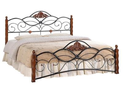 Кровать Canzona 140х200 Красный Дуб