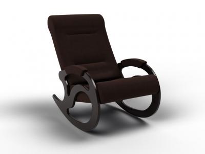 Кресло-качалка Вилла шоколад