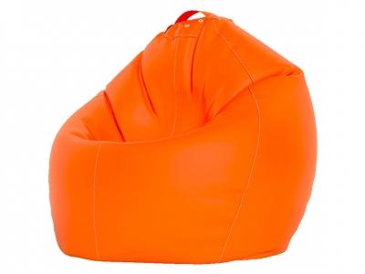 Кресло-мешок XXXL нейлон оранжевый люмин